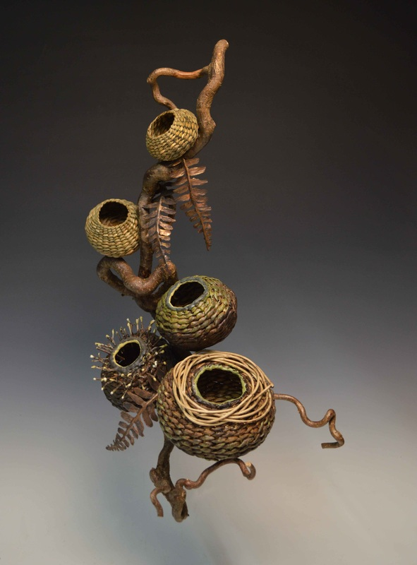 Wall Decor Using Baskets : Four cool wall sculpture artists matt tommey