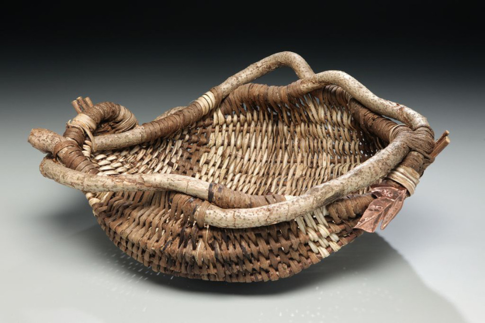Basket Weaving With Leaves : How to weave an appalachian harvest basket